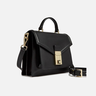 Ted Baker Women's Kimmiee Luggage Lock Mini Satchel - Black