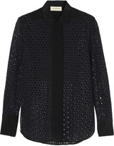 By Malene Birger Enel broderie anglaise shirt
