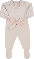 Paz Bow-Embellished Combo Footie