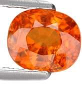 GemsRoyal 1.32 Ct. Charming Madarin Color Mandarin Garnet Loose Gemstone With Glc Certify