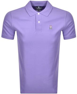 Psycho Bunny Classic Polo T Shirt Lilac