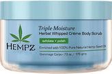 Hempz Triple Moisture Herbal Whipped Crme Body Scrub - 7.3 oz.