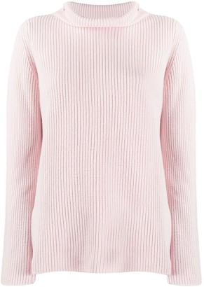 Peserico Ribbed Roll Neck Jumper