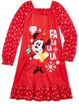 Disney Long Sleeve Minnie Mouse Nightshirt - Girls