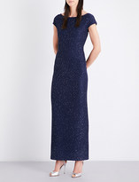 St. John Sequinned knitted gown