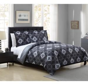 Hamilton Hall Katrell Reversible 8-Pc. King Comforter Set Bedding