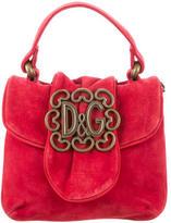 Dolce & Gabbana Suede & Woven Bag