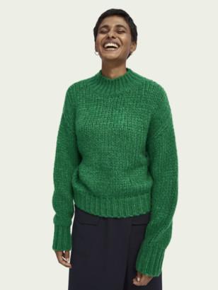 Scotch & Soda Chunky knit turtleneck pullover   Women