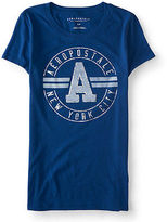 Aeropostale Womens Circle A Graphic T Shirt