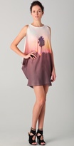 Palm Cascade Dress