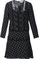 Veronica Beard semi sheer dotted print dress - women - Polyester/Silk/Spandex/Elastane - 2