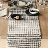 Crate & Barrel Canton Wool Table Runner