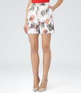Reiss Selena Short Printed Shorts