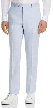 John Varvatos Street Linen & Wool Slim Fit Suit Pants