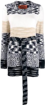 Missoni Tie-Waist Knitted Jumper