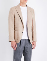 Brunello Cucinelli Slim-fit alpaca-blend jacket