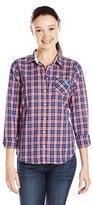 U.S. Polo Assn. Juniors' Long Sleeve Plaid Poplin Woven Shirt