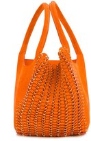 Paco Rabanne chain-mail detail tote