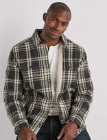 Lucky Brand Plaid Shirt Jacket