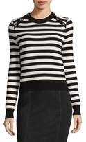 Michael Kors Stripe Crewneck Pullover
