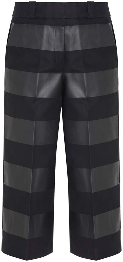 Alexander Wang Striped Cropped Pants