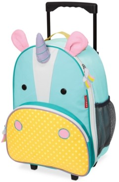 Skip Hop Little Girls Unicorn Rolling Luggage
