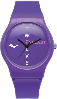 Everlast 33-700 Unisex Quartz Watch with Purple Dial Analogue Display and Purple Plastic or PU Strap EV-700-203
