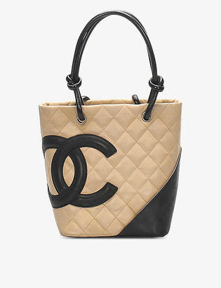 Resellfridges Pre-loved Chanel Cambon Ligne leather tote bag