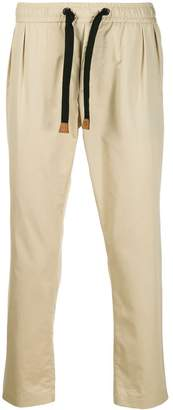 Dolce & Gabbana elasticated waistband chinos