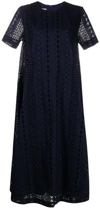 Baum und Pferdgarten Crocheted Cotton Midi Dress