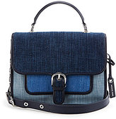 MICHAEL Michael Kors Cooper Denim Top-Handle School Satchel