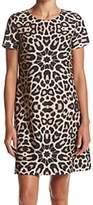 Tommy Hilfiger Beige LeopardPrinted Women's Size 6 Sheath Dress