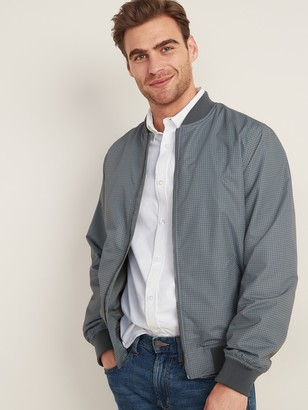Old Navy Lightweight Water-Resistant Bomber Jacket for Men