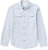 Calvin Klein Jeans Long-Sleeve Float Scattered Diamond Print Dobby Shirt