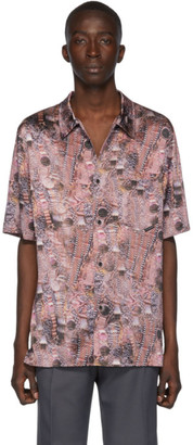 Alexander Wang Multicolor Silk Printed Shirt