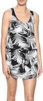 PJ Salvage Sum Nite Palm Dress