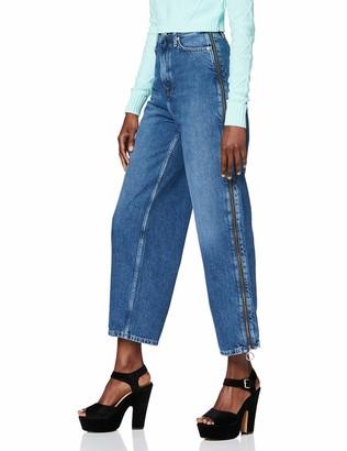 Pepe Jeans Women's Mara Zip Straight Jeans