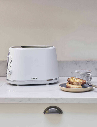 Cuisinart Neutrals two-slice stainless steel and plastic toaster
