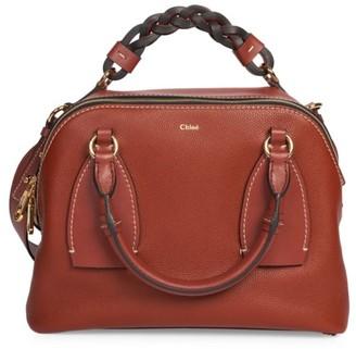 Chloé Medium Daria Leather Satchel