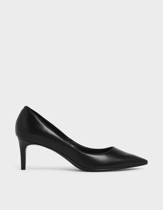 Charles & Keith Classic Pointed Toe Court Shoes