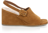 Rachel Comey Vista corduroy slingback wedge sandals