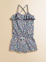 Ralph Lauren Toddler's & Little Girl's Ruffle Romper