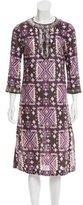 Tory Burch Embellished Midi Dress