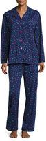 Asstd National Brand Knit Pant Pajama Set