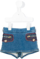 Little Marc Jacobs denim skort - kids - Cotton/Polyester/Spandex/Elastane - 24 mth