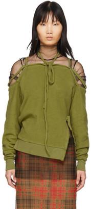 Ottolinger Green Halter Sweatshirt