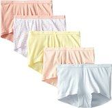 Just My Size Women's 5 Pack Cotton Boy Brief Panty
