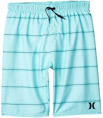Hurley Shoreline Pull-On Boardshorts (Big Kids) (Light Aqua) Boy's Swimwear