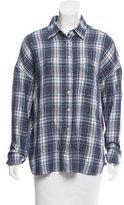 6397 Plaid Knit Top