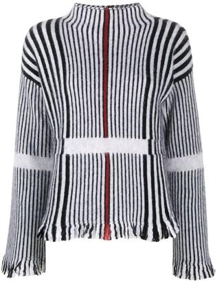 Giorgio Armani Stripe Knit Jumper